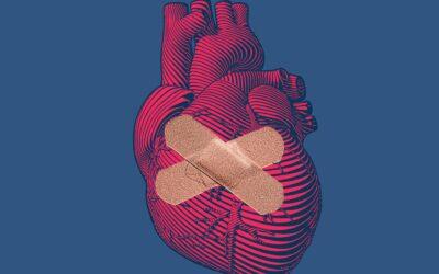 Un plasture care ar putea ajuta la vindecarea inimilor frânte