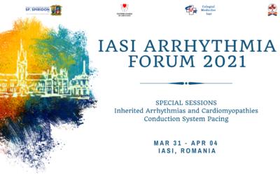 International Iași Arrhythmia Forum va avea loc între 31 martie – 4 aprilie