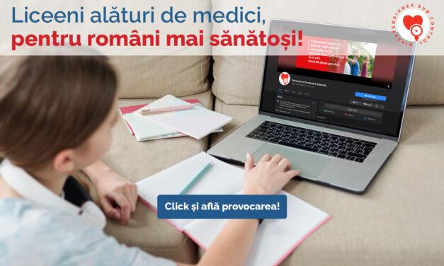 Liceeni și medici din București, împreună pentru controlul hipertensiunii arteriale