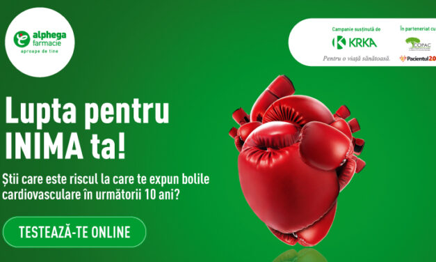 Farmaciile Alphega lansează un test online de evaluare a riscului asociat bolilor cardiovasculare