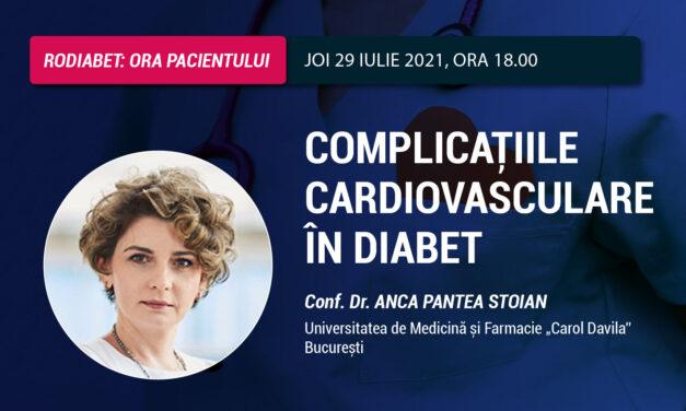 Conf. Dr. Anca Pantea Stoian: Bolile cardiovasculare reprezintă una dintre cele mai serioase complicații ale diabetului