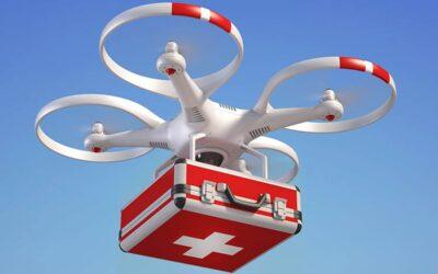 Defibrilatoare livrate cu drona persoanelor aflate în stop cardiac, mai repede decât cu ambulanța